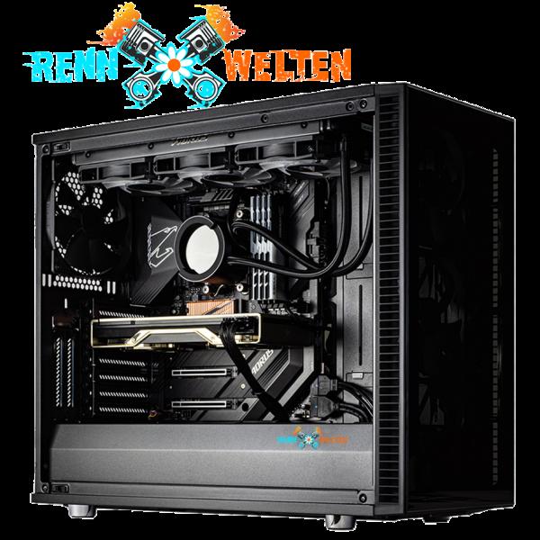 """RennKiste """"Triebwerk"""" 2021 AMD Glas"""