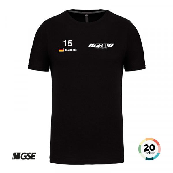 GSE Premium T-Shirt Rundhals inkl. 2 Logos